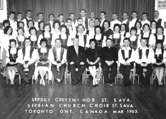 St. Sava Choir 1963